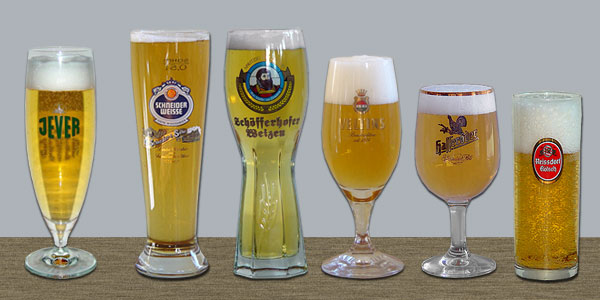 кружки под разные сорта пива