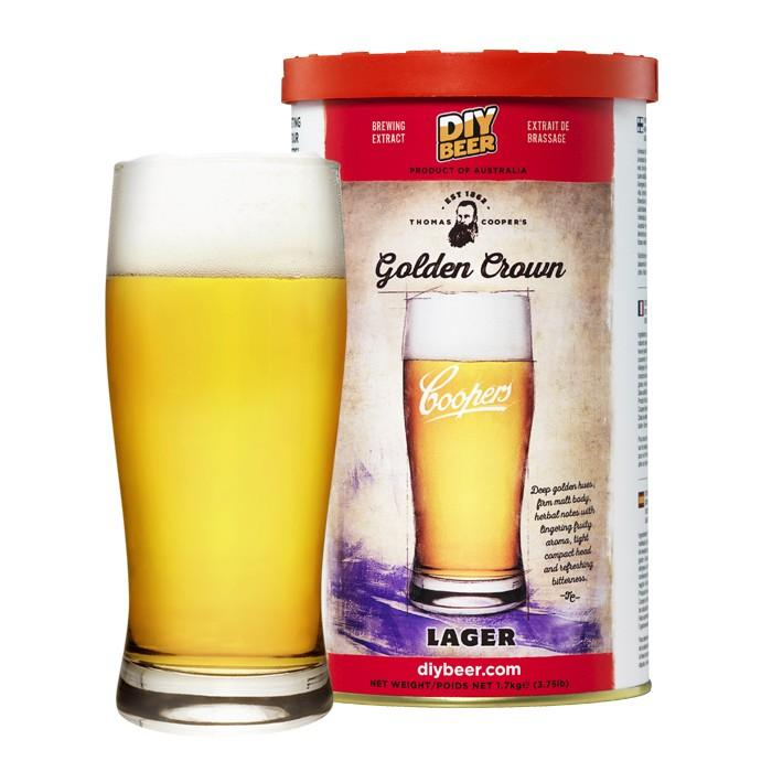 Thomas Coopers Golden Crown Lager 1,7 кг.
